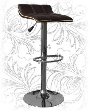 Барный стул 5014 коричневый/крем