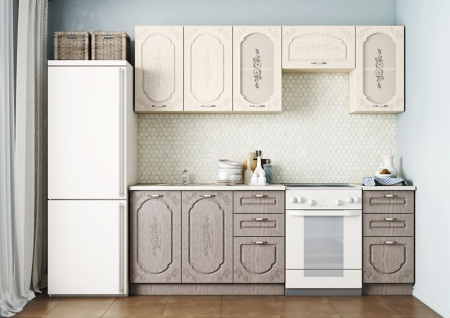 Кухонный гарнитур Легенда 1 (1,6 м)