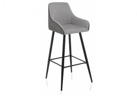 Барный стул Хабис серый