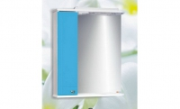Шкаф Блик 50 голубой