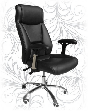 Кресло для руководителя LMR-105M черное