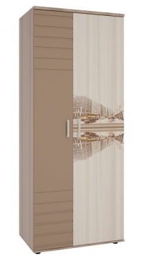 Манхэттен шкаф 2-створчатый