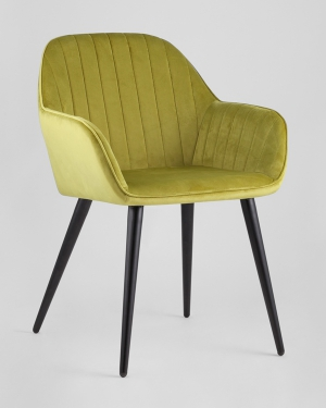 Кресло Кристин оливковое