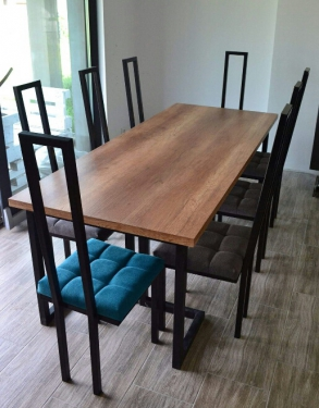 Стол обеденный Лофт-Лайн