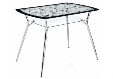 Стеклянный стол Лайн 105